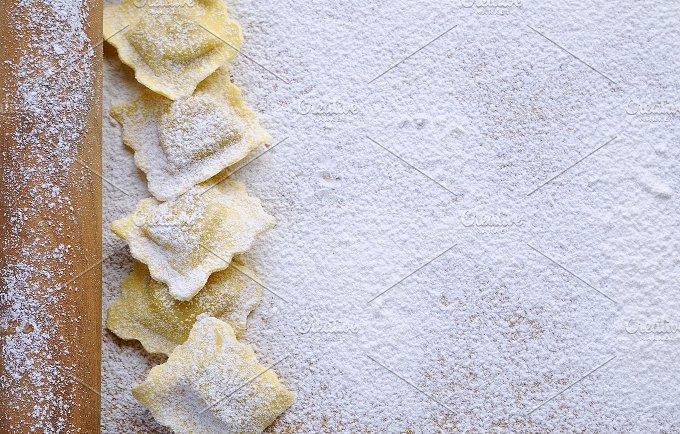 Preparing fresh ravioli.. - Food & Drink