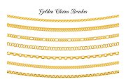 Golden chains brushes