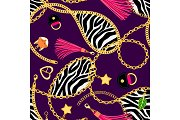 Chains zebra pattern