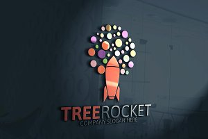 Tree Rocket Logo