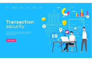 Transaction Security Web Page