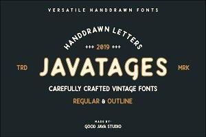 Javatages - Vintage Fonts