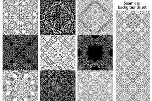 36 vector geometric patterns
