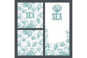 Template for greeting card and