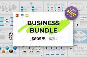 64-in-1 Business Bundle Templates