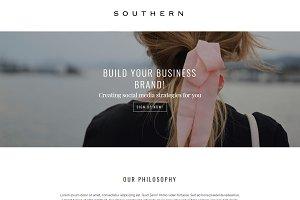 Southern Divi WordPress Child Theme