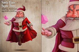Santa Claus Super Hero