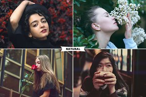 Natural Photoshop Actions
