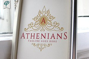 Athenians - Luxury Vintage Logo
