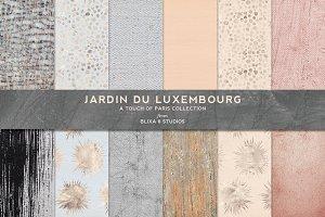 Parisian Textures & Gold Foil: Peach