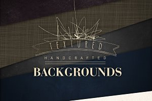 Handcrafted textured Backgrounds