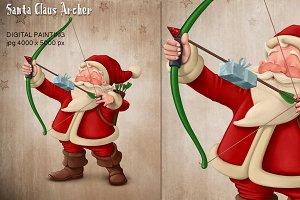 Santa Claus archer