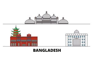 Bangladesh, Chittagong flat
