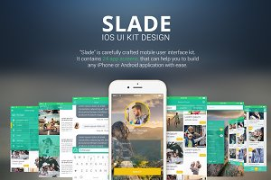 SLADE IOS UI KIT DESIGN