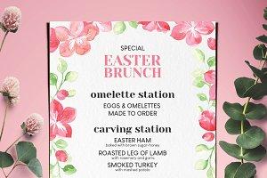 Easter Special Brunch Menu