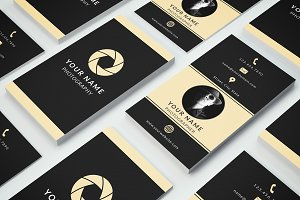 Business Card Template 010 Photoshop