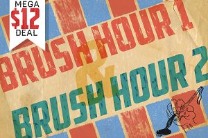 BRUSH HOUR 1&2 MEGA BUNDLE!