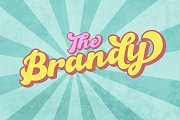 The Brandy Bold Retro Script