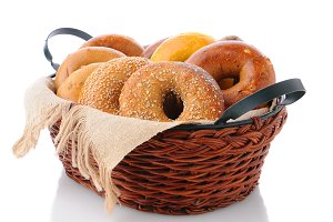 Basket of Bagels
