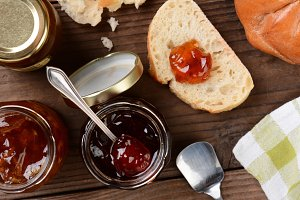 Preserves and Bread