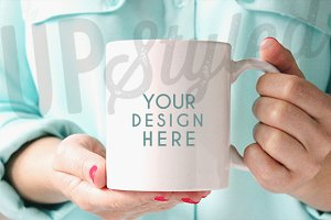 Coffee Mug Stock Photo F125