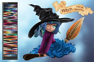Witch Ai Swatches
