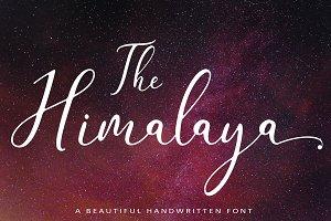 The Himalaya | beautiful handwriten