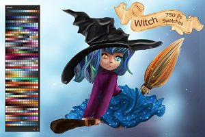 Witch Ps Swatches