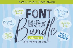 Font Box Bundle Volume 1