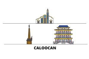 Philippines, Caloocan flat landmarks
