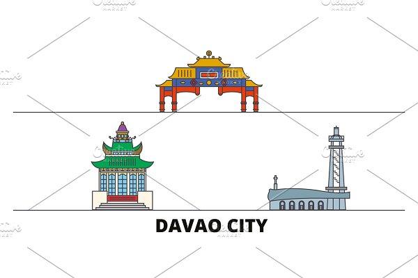 Philippines, Davao City flat