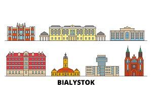 Poland, Bialystok flat landmarks