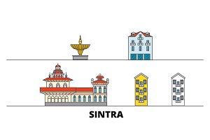 Portugal, Sintra flat landmarks
