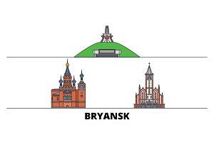 Russia, Bryansk flat landmarks