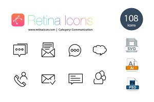 120 E-Commerce Icons