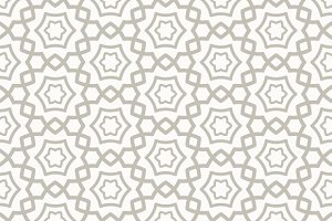 Arabic seamless pattern set