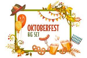 Oktoberfest banner set