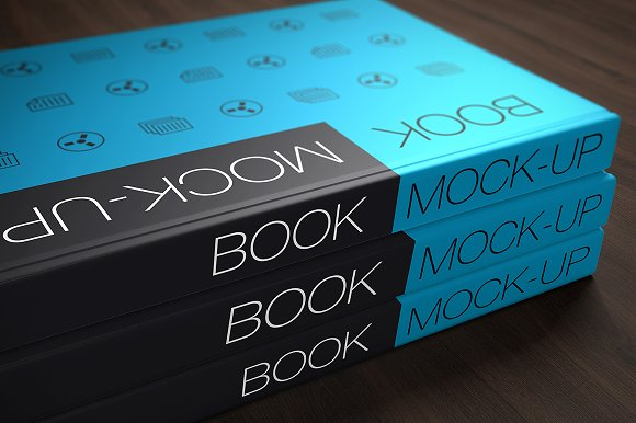 Download Book Cover Mock-up's