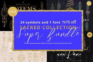 Super Bundle. Sacred collection