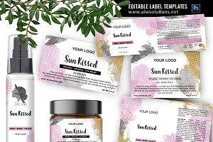 skincare label template-id61