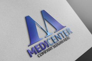 Media Center/Letter M Logo
