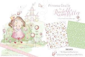 Pastel Princess Castle