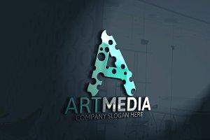 Art Media / A Letter Logo
