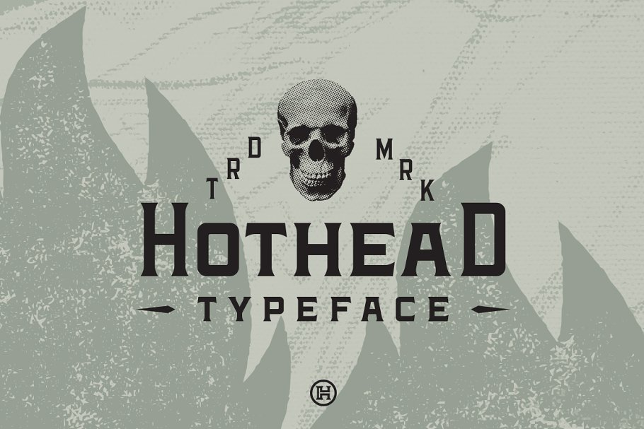 Hothead Western Font