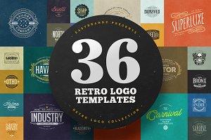36 Logo Templates Bundle