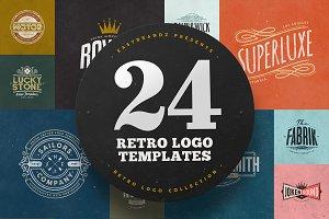 24 Logo Templates Bundle