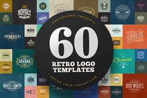 60 Logo Templates Bundle
