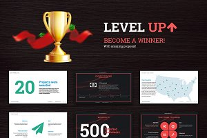 LevelUp — Business Proposal Template