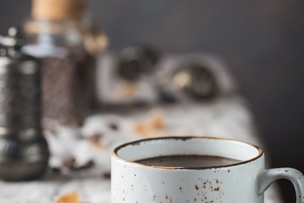 Food Images - Hot Coffee cup