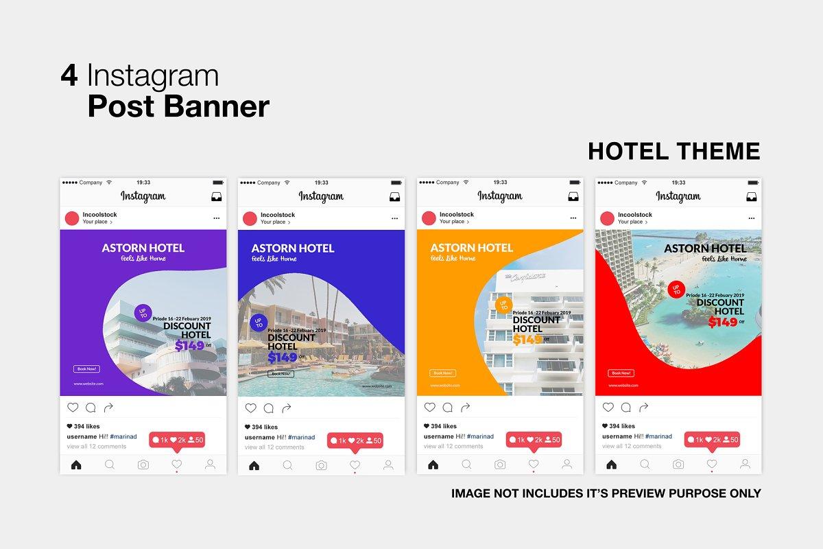 Hotel Instagram Post